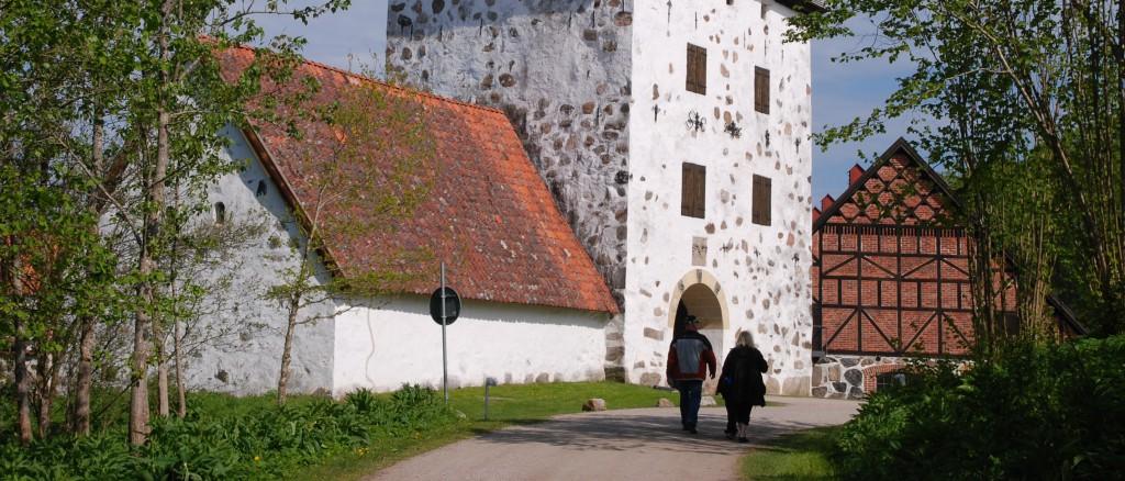 Hovdala slotts dricksvatten är otjänligt på grund av för hög fluoridhalt. Foto: Urban Önell