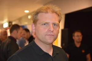 Mattias Berglund säljer Hessleholm Network. Foto: Berit Önell