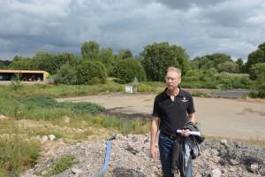 Miljöchef Sven-Inge Svensson är tveksam till om upplaget med massor från Sydvästlänken behöver undersökas.