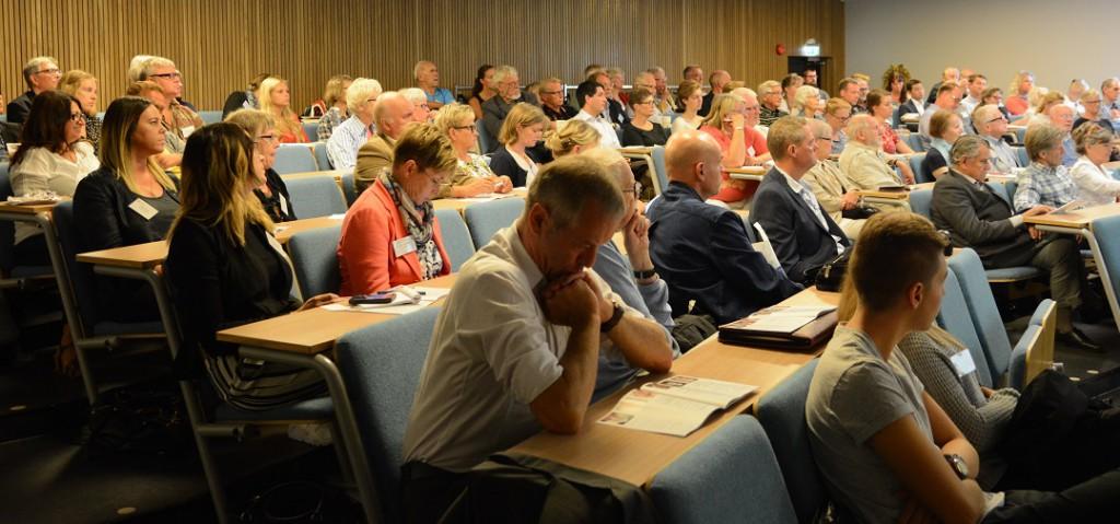 Seminarierna på Europaforum var välbesökta, här vid torsdagens reflektioner om värdekrisens Europa efter skotten i Paris och Köpenhamn.