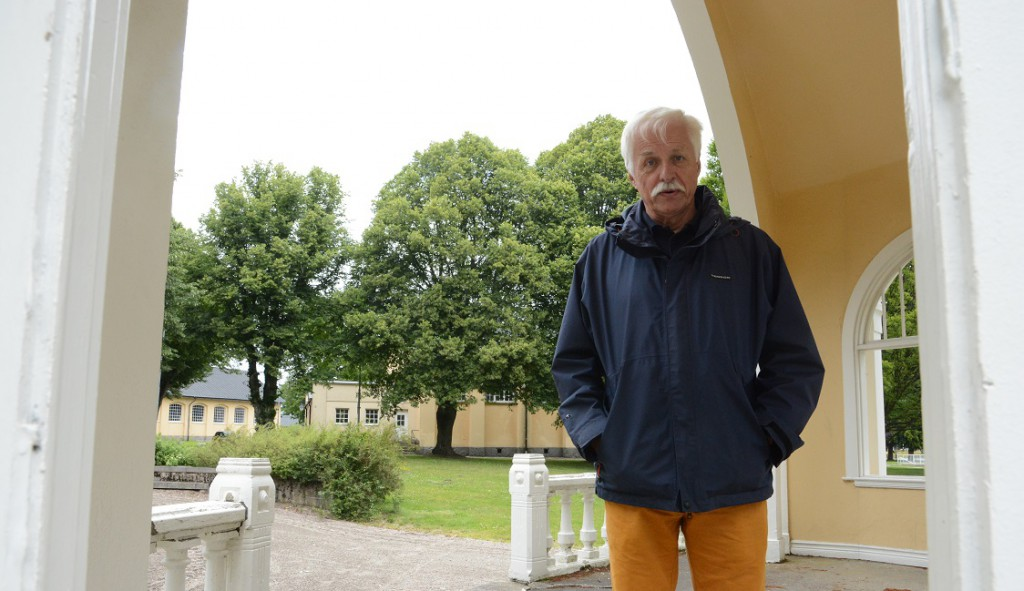 Peter Alf, vice ordförande i T4:s kamratförening, JO-anmälde mark- och exploateringschefen Jakob Ruters handläggning av frågan om musikpaviljongen skulle bli byggnadsminne.  JO utreder inte saken vidare, men påminner om sin tidigare kritik. Foto: Berit Önell