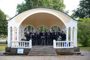 Det är tveksamt om musikpaviljongen står kvar tills en eventuell folkomröstning hinner hållas. I september 2015 sjöng Bjärnums manskör i paviljongen till stöd för dess bevarande i parken.