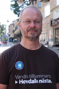 """Kommunekologen Lars-Erik Williams medger att förändringen leder till """"lägre kvalitet"""". Foto: Urban Önell"""
