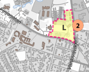 Hela området kring Trängplan, inklusive parken och paviljongen, är utpekade som bevaransvärda i kommunens förslag till fördjupad översiktsplan.