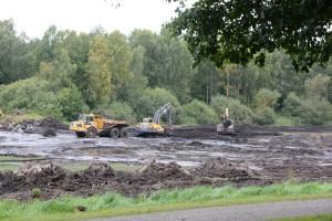 Restaureringen av Vinslövssjön är nu klar och den 23 november återinvigs den av landshövding Margareta Pålsson. Foto: Berit Önell