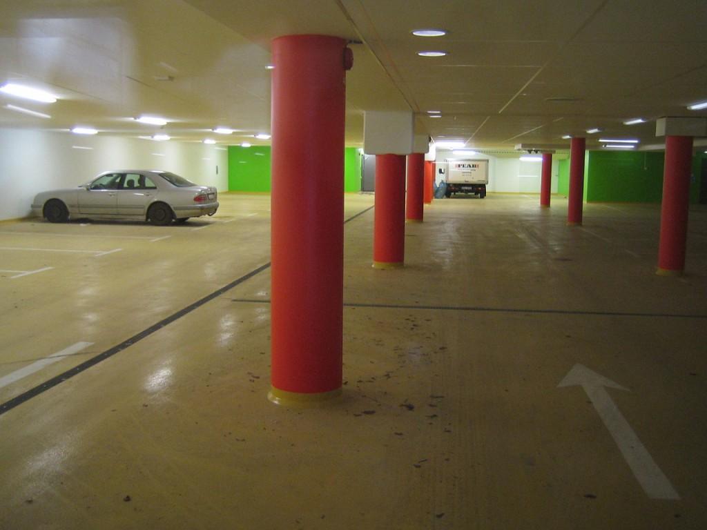 Det omskrivna parkeringsgaraget på Norra Station beräknas stå för 0,9 miljon av kommunens underskott. Foto: Urban Önell