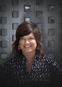 Programledaren Ann-Marie Rauer blev Årets hässleholmare 2015. Foto: SVT