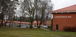 Linnéskolan har utrymmen över och ska nu bli central mottagningsenhet för mottagande av nyanlända barn och elever. Foto: Berit Önell