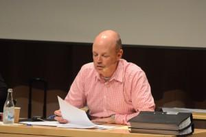 Kommunjuristen Magnus Gjerstad ledde en kort utbildning i offentlighet och sekretess i våras. Foto: Urban Önell
