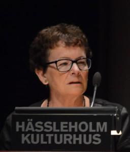 Marianne Nilsson(S), ordförande i Hässleholm Miljö, trodde att det var tillåtet att ta timtaxa för att ta fram offentliga handlingar. Foto: Urban Önell