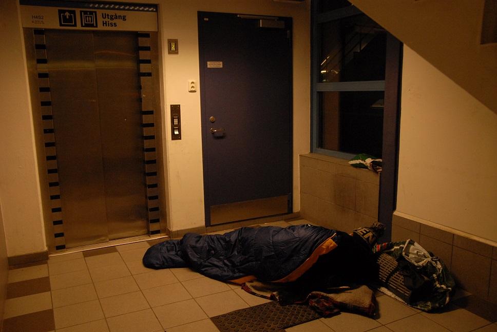Utsatta människor utnyttjas av kriminella grupperingar, även i Sverige. Foto: Urban Önell