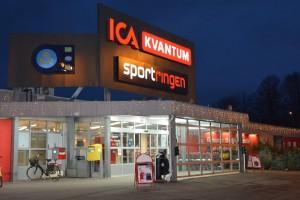Kvantum tvingades stänga i 45 minuter på torsdagseftermiddagen på grund av strömavbrott. Foto: Berit Önell