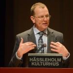Omsorgsnämndens ordförande Thomas Rasmusson (S). Foto: Urban Önell