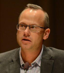 Patrik Jönsson (SD) ansåg att förutsättningarna för fiberprojektet förändrats helt. Foto: Urban Önell