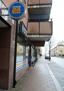 Gymmet Fitness 24 Seven har stängt på grund av underkänd ventilation, men miljökontoret vill nu att vite på 125 000 kronor utdöms. Foto: Berit Önell