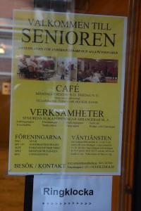 Senioren är centrum för en mängd aktiviteter, främst riktade till anhöriga och pensionärer.