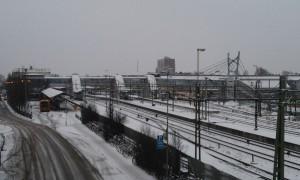 Hässleholm får bygga ut stationsområdet med en höghastighetsstation. Men det garanterar inte att höghastighetstågen stannar. Foto: Jonathan Önell