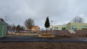 Faran är över, det fanns inga farliga föroreningar vid förskolan i Bjärnum och den kan därmed öppna som planerat på måndag. Foto: Lennart Nilsson