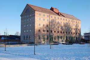 Förslaget är att kommunfullmäktige beslutar köpa Havremagasinet för max 75 miljoner kronor, efter att Hibab renoverat och kommunen hyrt i två år. Foto: Urban Önell