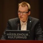 Ulf Erlandsson (SD) var emot ett boende för ensamkommande barn med svåra trauman på Stattena. Foto: Urban Önell