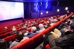 Filmvisningen på måndag sker, liksom premiären, i Parkbiografens salong 1.