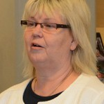 Kommunstyrelsens ordförande Lena Wallentheim  S). Foto: Berit Önell