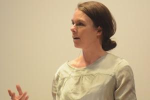 Anna Maris talade om medieägarkoncentration och kooperativt medieägande.