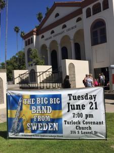 Röke Blås kallas The big big band from Sweden och konserterna blir mycket uppskattade.