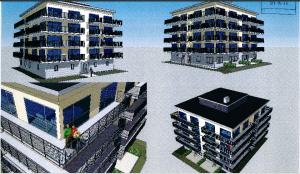 Jacob Karlssons K-fastigheter har fått bygglov för flerfamiljshus i fem våningar i Officersparken.