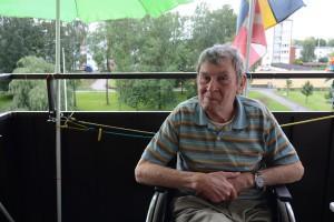 Roland Johansson tvingades betala vaktbolaget för att komma in i sin lägenhet efter sjukhusvistelsen - trots att hemtjänsten hade nyckel och låste upp för ambulanspersonalen. Foto: Berit Önell