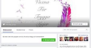 Vuxna För Trygga Tjejer finns på Facebook, Instagram och snart även på en egen hemsida.