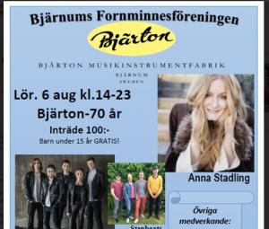 Det är 70 år sedan Bjärtonfabriken startade och det firas stort i Bjärnum under lördagen.