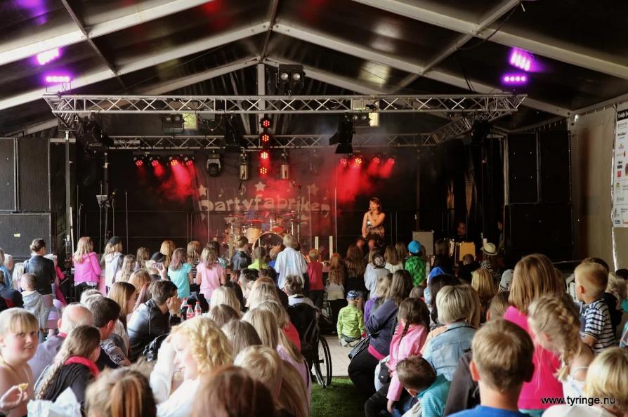 Tyringedagarna brukar locka en stor publik. Foto: Bert Wilnerzon
