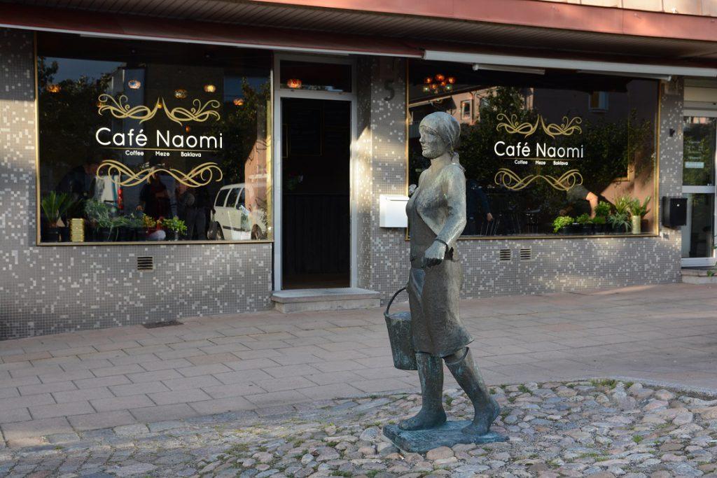 Café Naomi är ett nytt mat- och fikaställe vid Fisktorget.