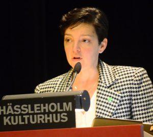 Miljöpartiets ordförande i Hässleholm, regionrådet Dolores Öhman (MP) anklagar paviljongvännerna för att nära nog ha betett sig kriminellt.