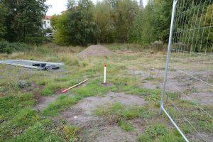 Här togs grundvattenprovet som visade höga blyhalter.