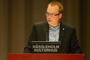 Ulf Erlandsson (SD), kommunalråd i Hässleholm.
