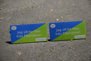 Fibertjänst bygger nu fiber i sydöstra Vinslöv, men har backat från Tyringe.