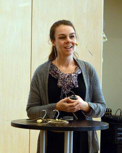 2.– Journalister idag har fortfarande en mer idealistisk syn än vad tidningsföretagens ägare har, observerade Anna Maris, Studiefrämjandet.