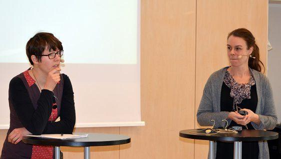 3.Abigail Sykes och Anna Maris betonade att tidningsredaktionernas neddragningar och branschens ägarkoncentration har gjort medborgarjournalistiken allt viktigare.