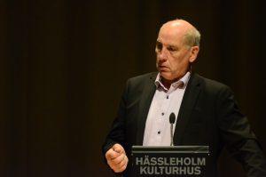 Robin Gustavsson (KD) räddade fibersatsningen.