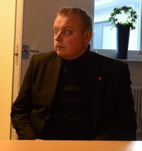 Joachim Fors S), vice ordförande i kommunstyrelsen.