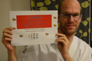 Nu har ungdomsmottagningen en manlig sjuksköterska på heltid: Jonas Barsegård.