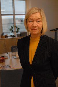 "Landshövding Anneli Hulthén besökte på torsdagen Hässleholm under sin ""eriksgata""."