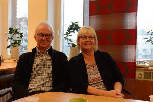 Lena Wallentheim får stöd av Bengt Andersson i den politiska krisen.