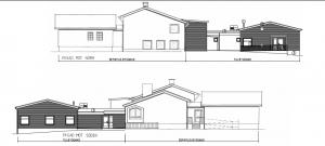 Så här kommer utbyggnaden för förskolan på Västra Torups skola att se ut.