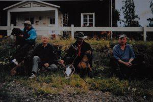 Hunden Sniffa var skicklig på eftersök och med henne kom Viking Nilsson bland annat tvåa i landskap i Norge.