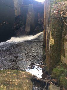 Ekstams Aqua-Kraft har inte tillstånd för kraftverket vid Hammarmölledamm. För att få det måste sättningar sprickor och nedfallna betongblock vid dämmet åtgärdas.