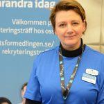 Betina Johansson Mohager berättade om bristyrkena i Hässleholm.
