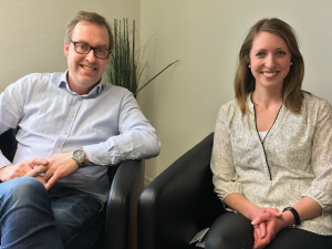 Mats Gunnarsson och Louise Wallin är fast beslutna att se till att Torsjö Live växer och utvecklas. Foto: Lotta Persson